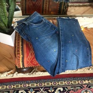 L'AGENCE   bejeweled jeans